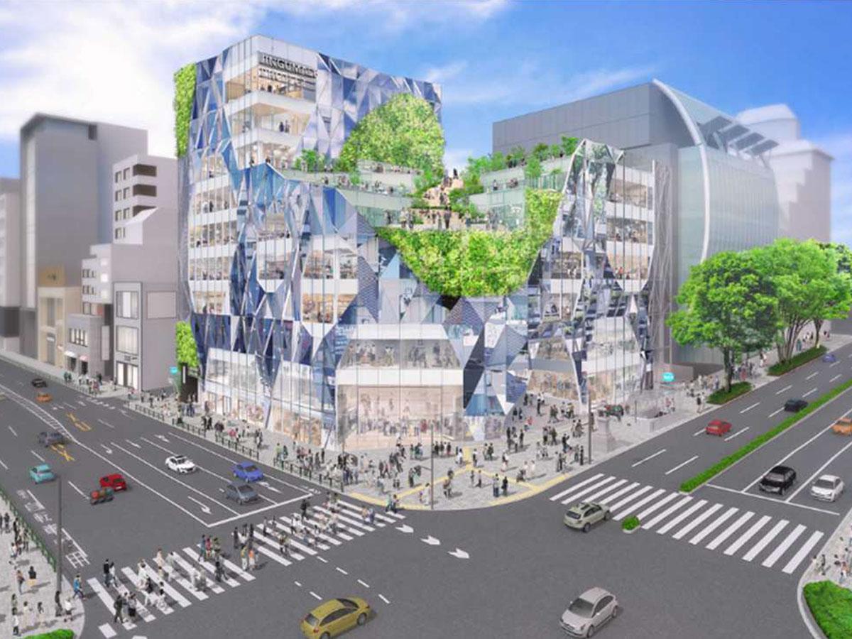 建築家・平田晃久さんが手掛ける外装デザインのイメージ