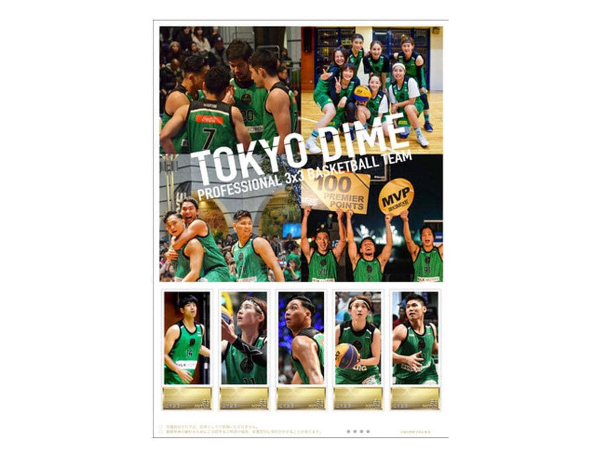 TOKYO DIMEのフレーム切手