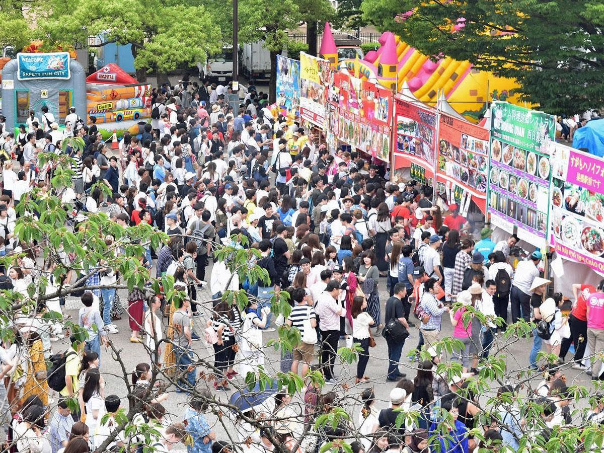 過去開催時のベトナムフェスティバルの様子