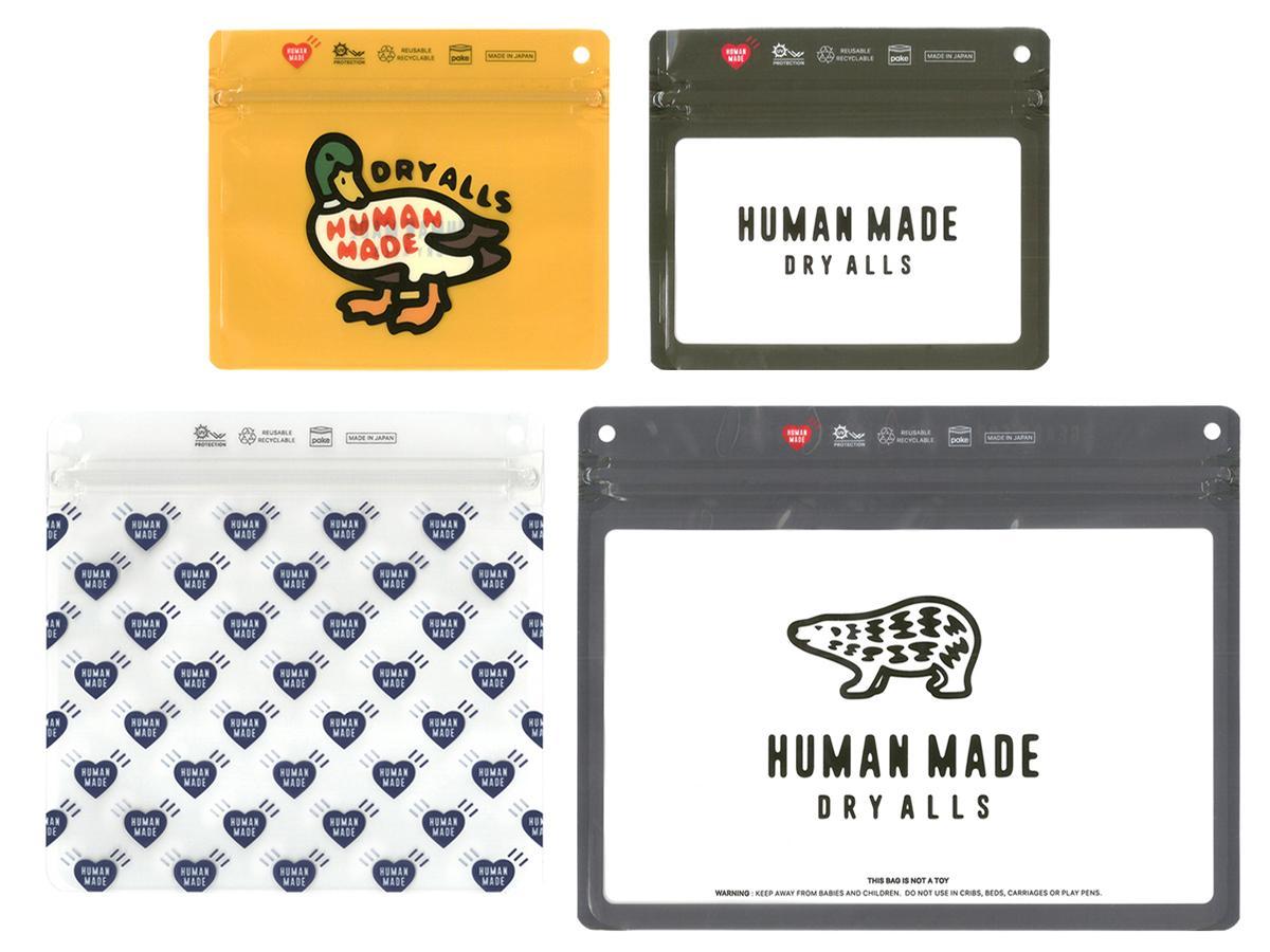 ラフォーレ原宿限定販売となる「HUMAN MADE」とのコラボセット(2,500円)