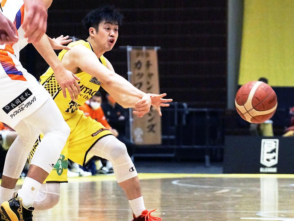 攻守で貢献した田渡修人選手
