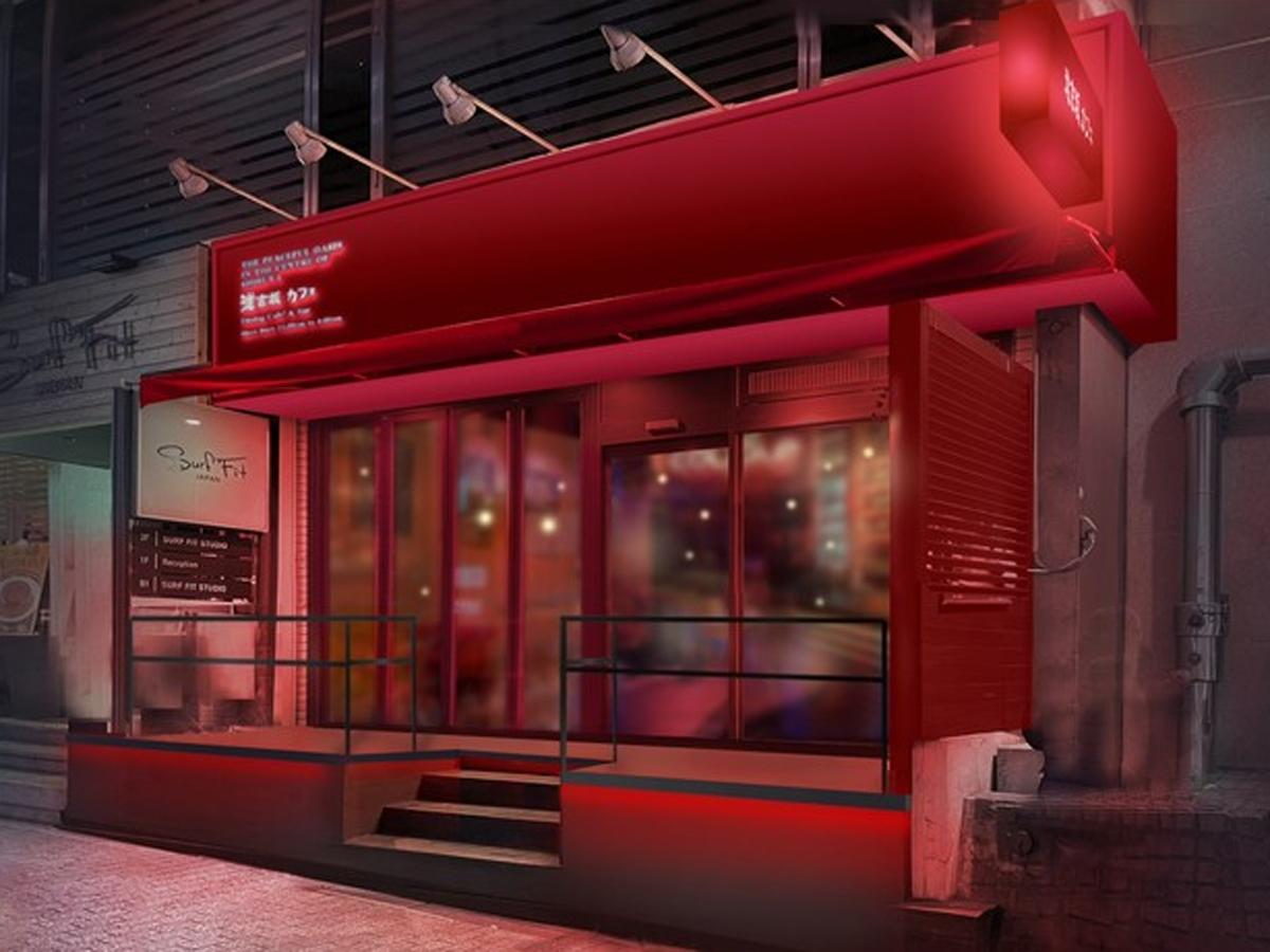 道玄坂カフェの外観イメージ
