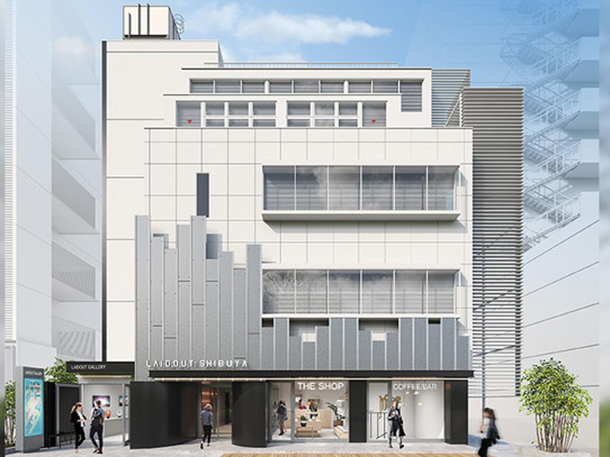 築40年以上のビルをリノベーションする施設外観イメージ