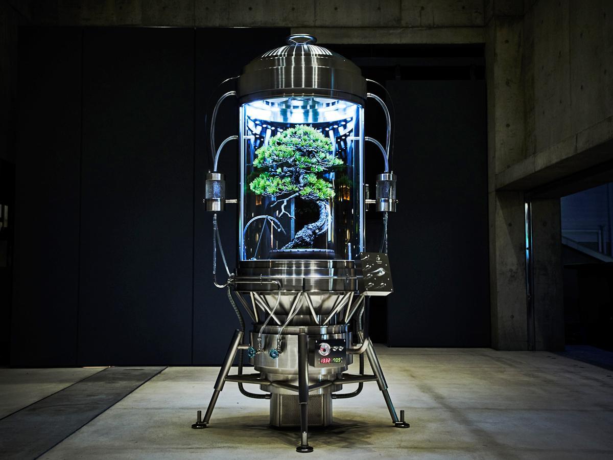 場内に展示する「パルダリウム保俊」(PHOTO BY SHIINOKI SHUNSUKE)