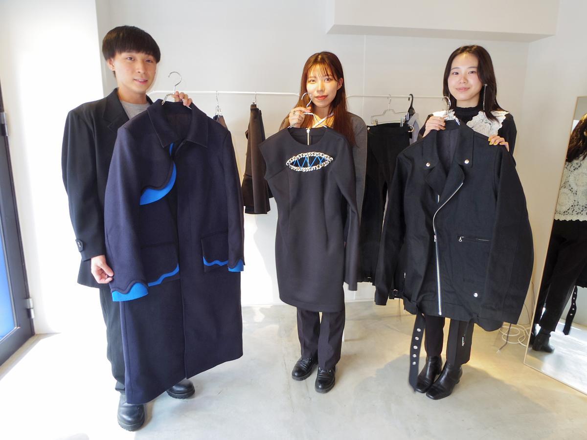 青学大を中心とした「Aoyama Fashion Association」のメンバーたちと発表したコレクション
