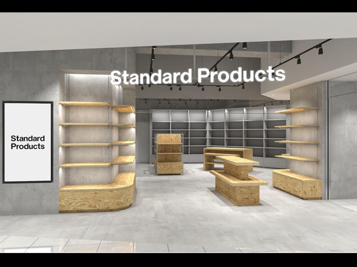 渋谷マークシティに出店する「Standard Products」の店舗イメージ