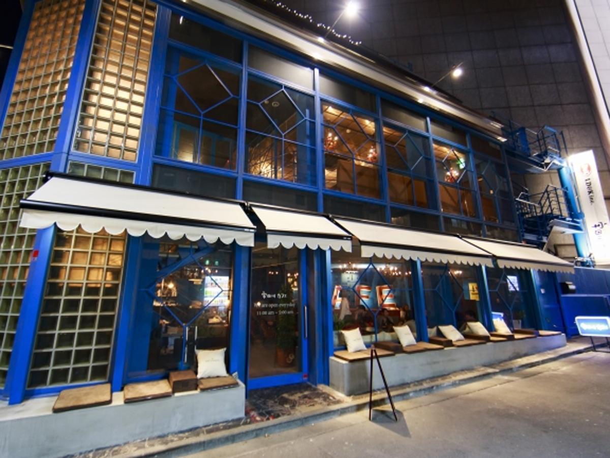 宇田川カフェの外観