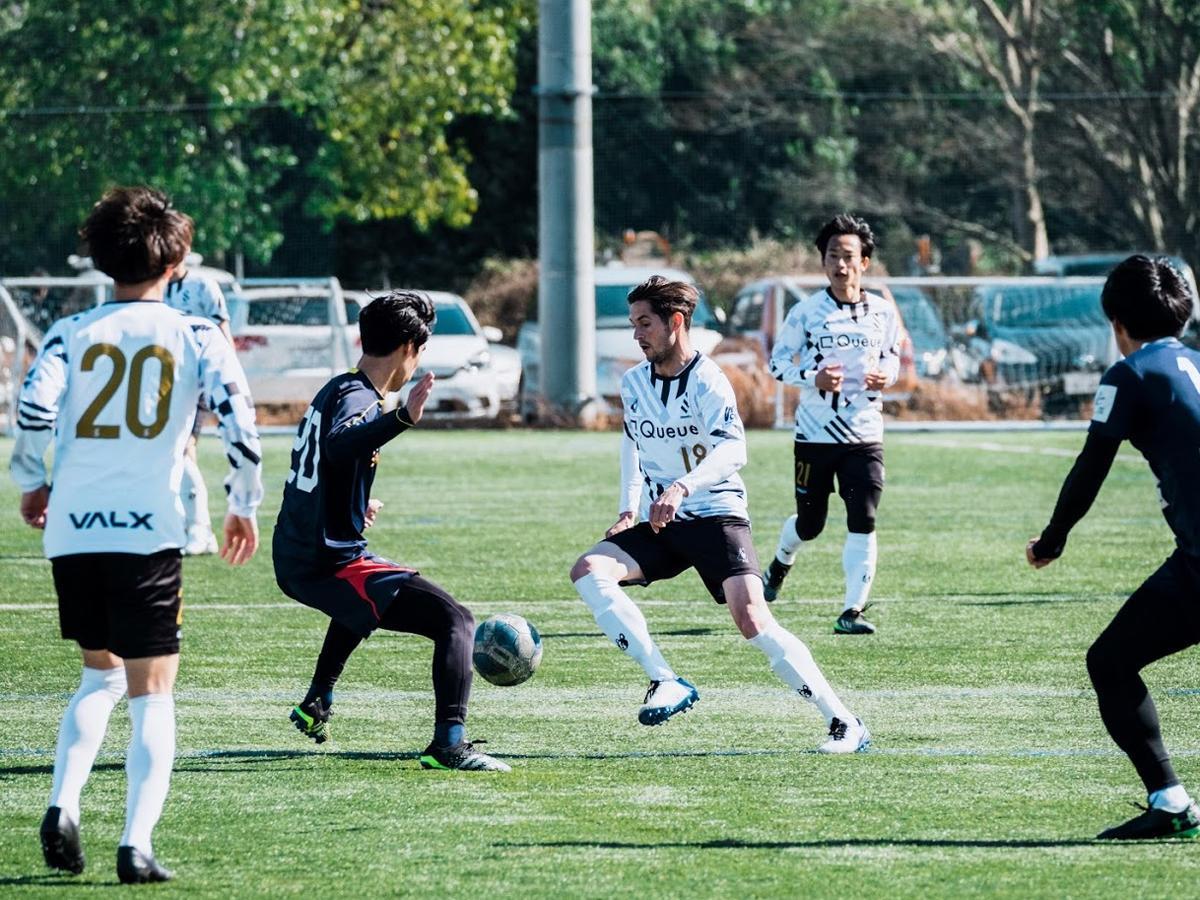 改称して初のシーズンを迎える「SHIBUYA CITY FC」(白のユニホーム)