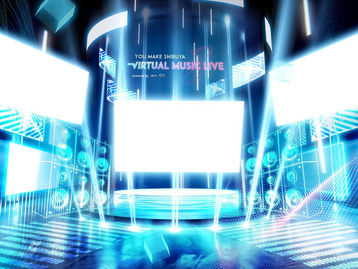 ライブハウスエリア「SHIBUYA UNDER SCRANBLE」のイメージ