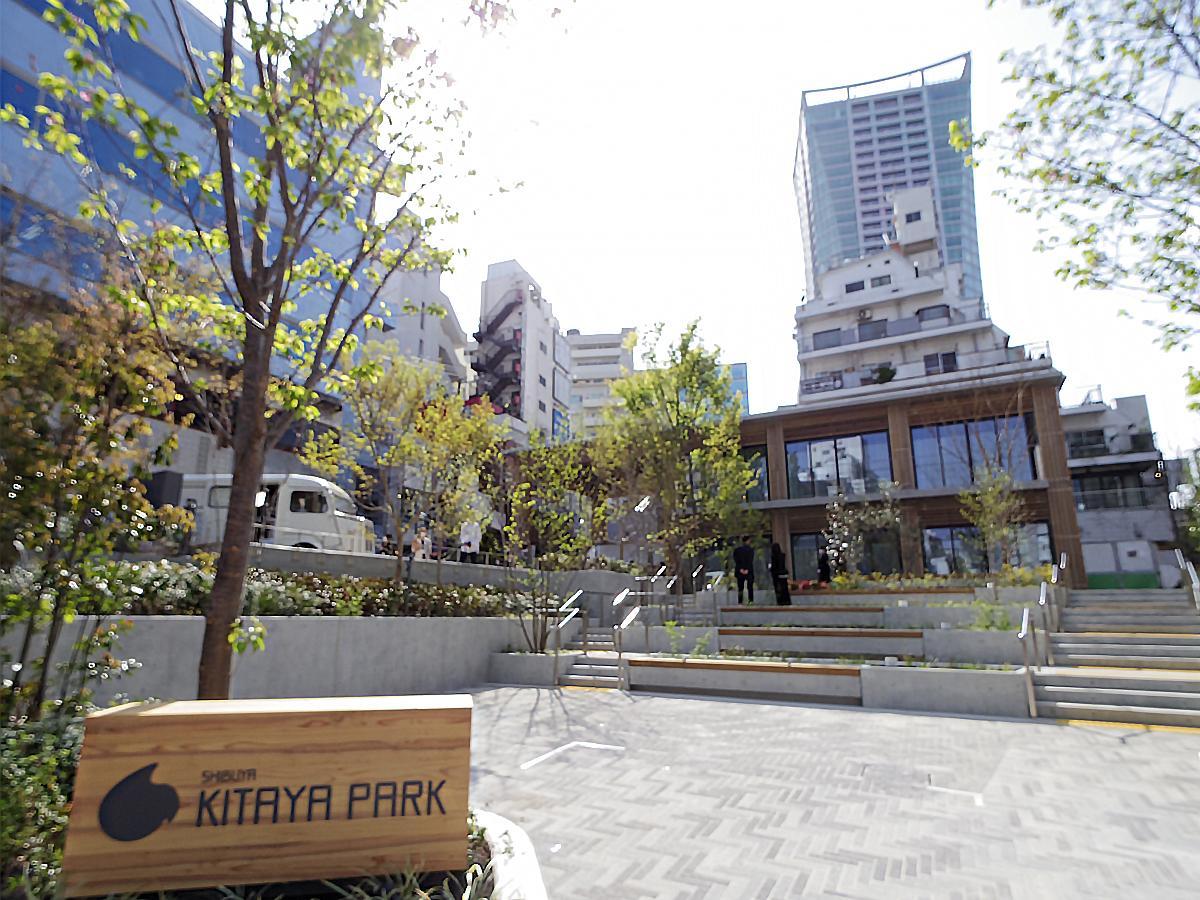 再整備された渋谷区立北谷公園