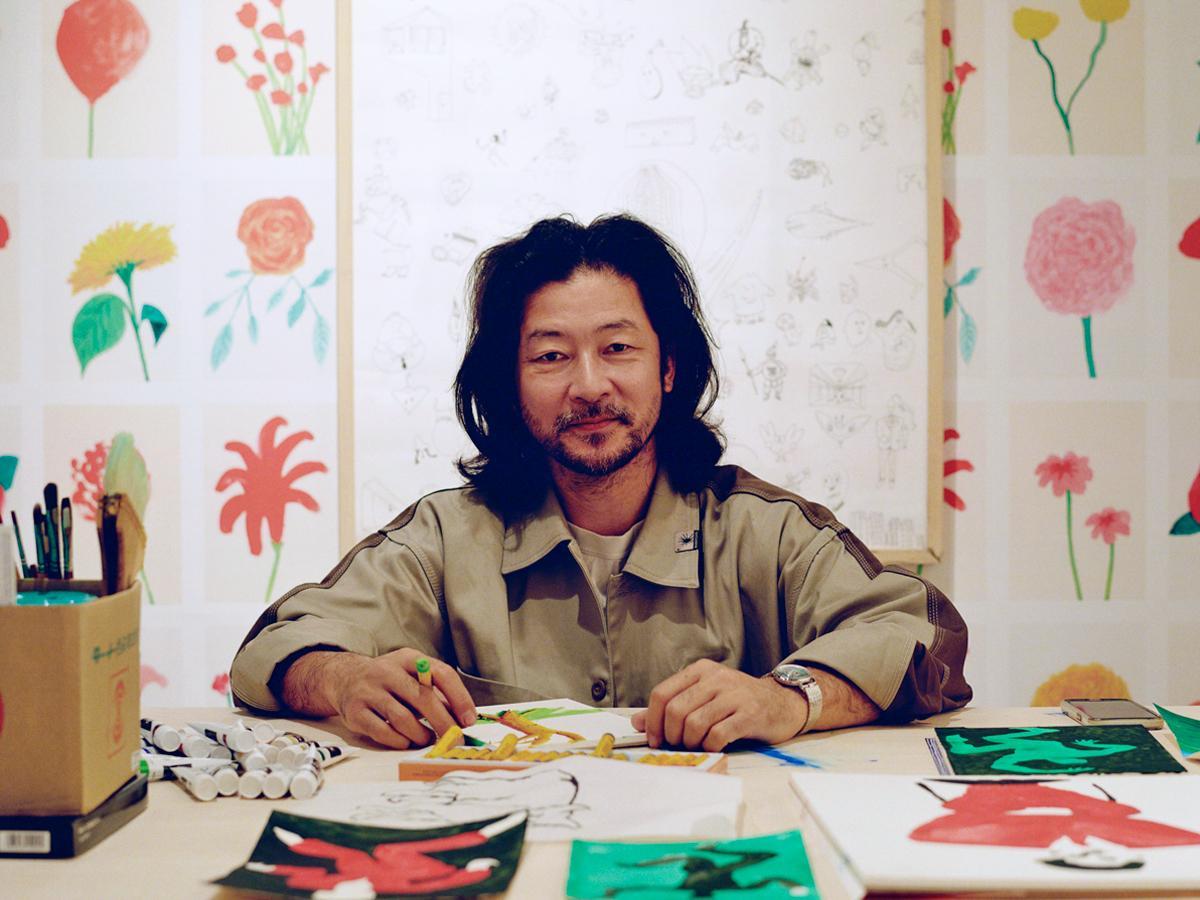 絵は「切り離せない大切なもの」と話す浅野忠信さん(TAAMURADAISUKE)