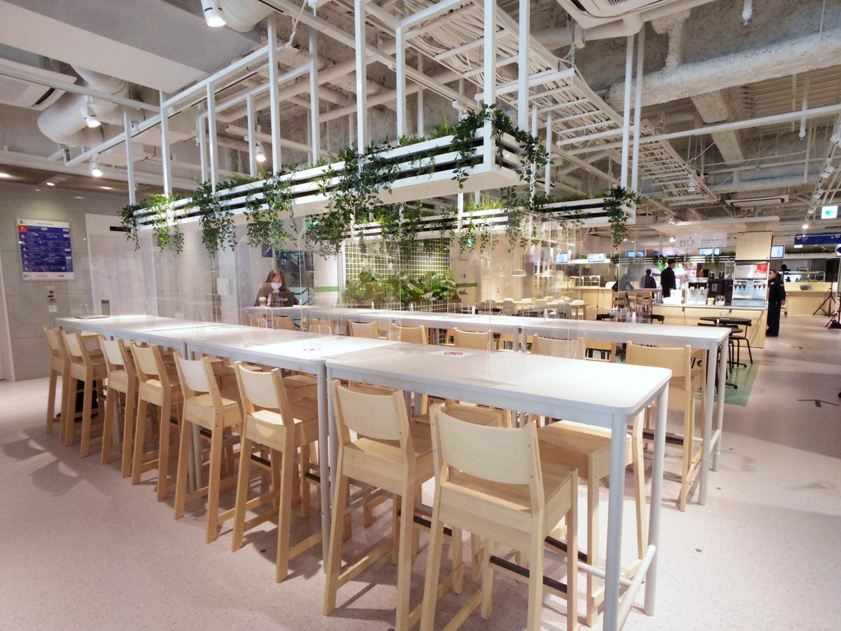 都市型店舗に初出店する「スウェーデンレストラン」フロア