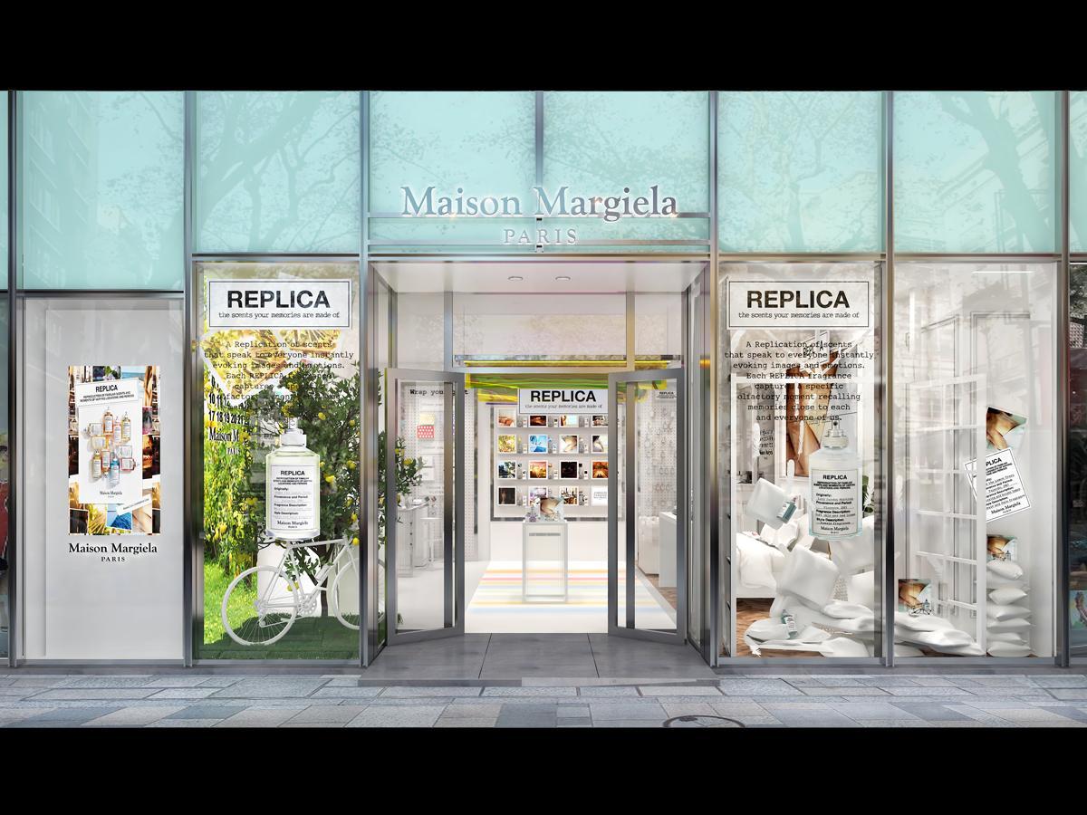表参道沿いにオープンする限定店の外観イメージ