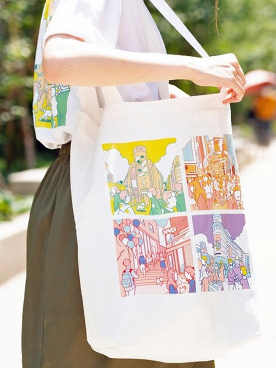 アダストリアが昨年発売した渋谷区公認土産第1弾のトートバッグ