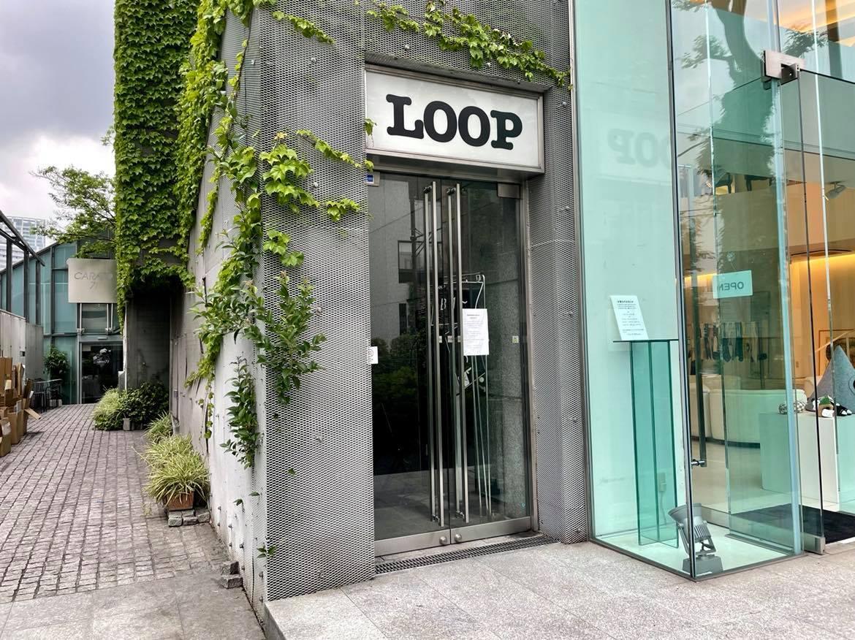 代官山LOOPのエントランス