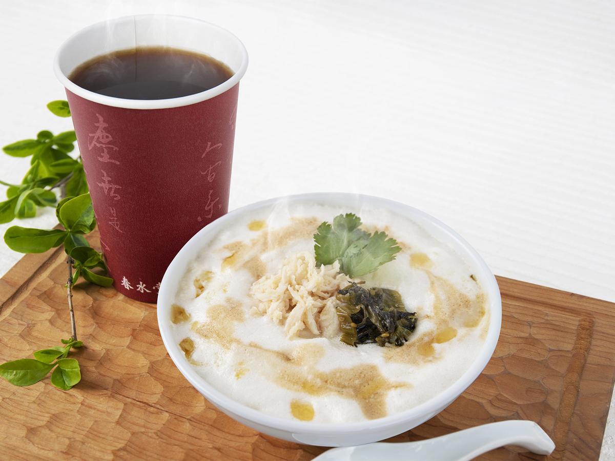 豆乳と鶏ガラスープがベースの「シェントウジャン」などを提供する