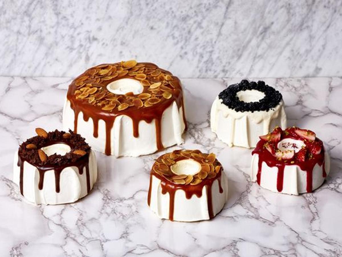 1人用のホールケーキも用意するシフォンケーキ(写真はイメージ)