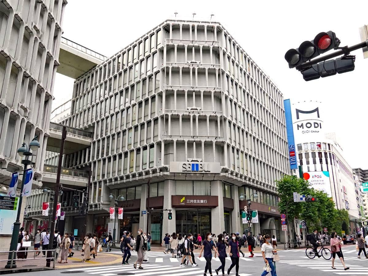 ジャニーズショップが移転する西武渋谷店B館