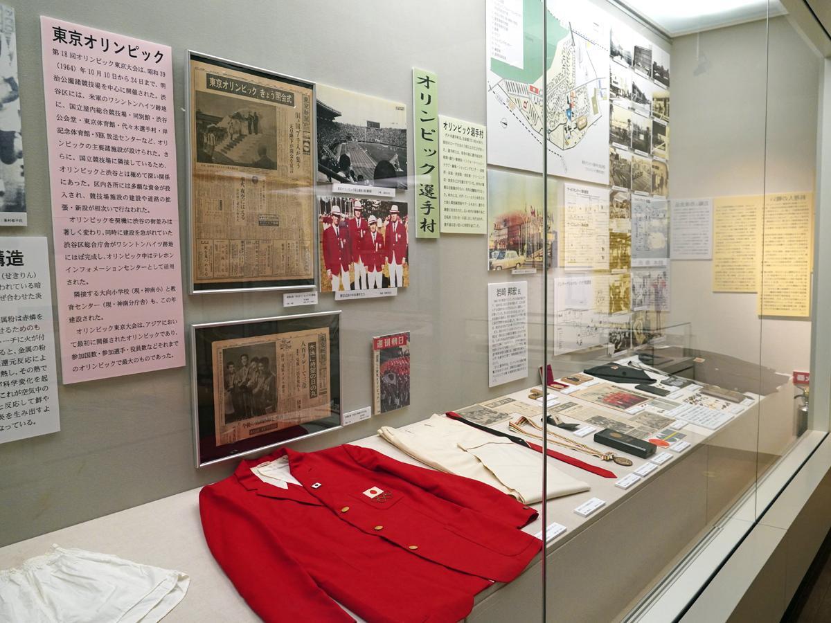 企画展「オリンピックの料理人の見た東京大会1964」の展示風景