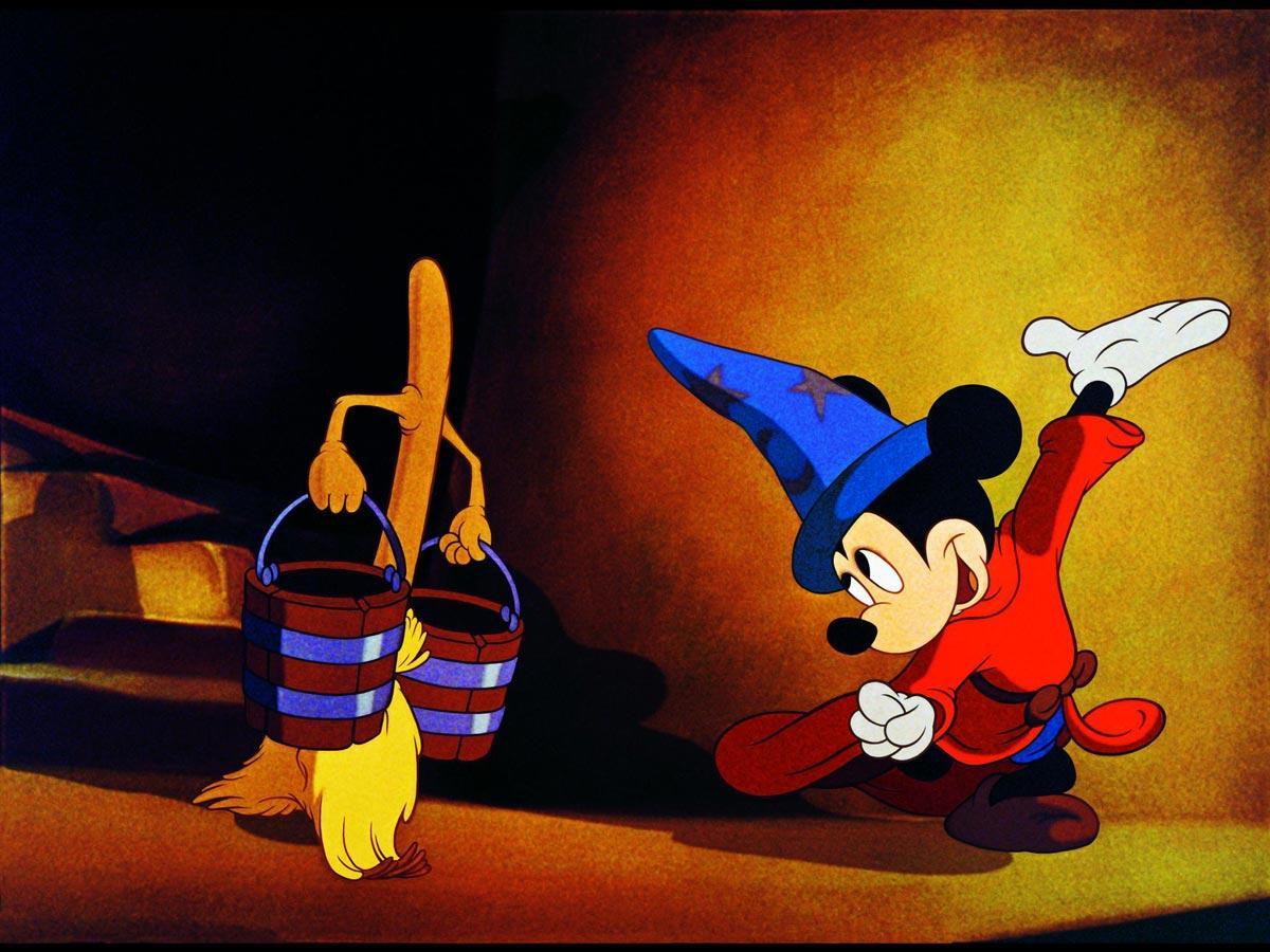 ウォルト・ディズニーの「ファンタジスタ」より©Courtesy of Disney