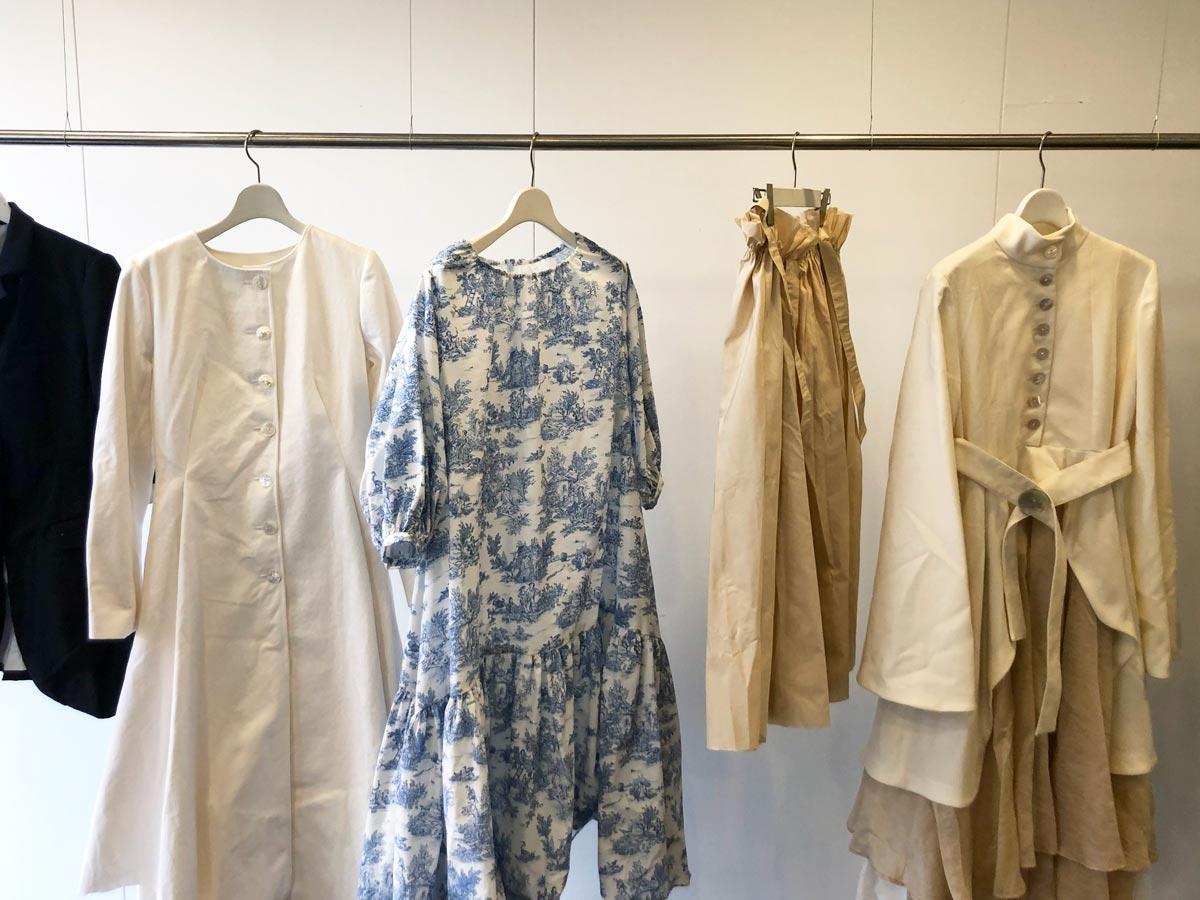 文化服装学院高度専門士科・大阿久晃輝さんの作品