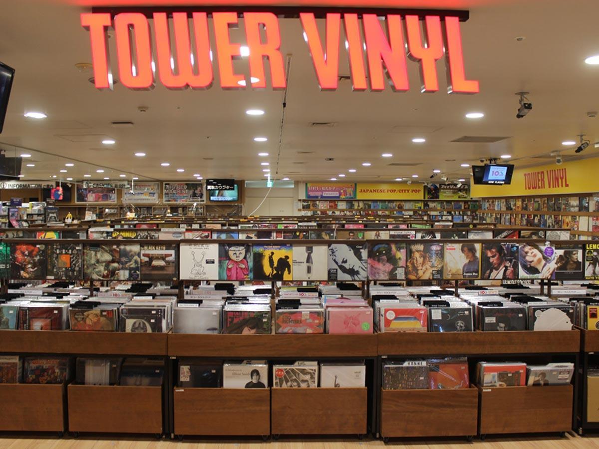 アナログレコード専門売り場「TOWER VINYL」