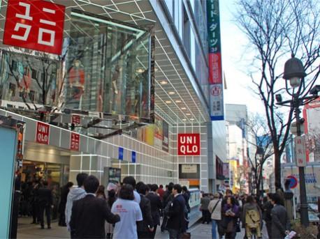 ユニクロ 渋谷 道玄坂 店