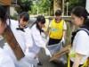 渋谷でスポーツゴミ拾い大会 実践女子学園主催、地域住民らと80キロ弱