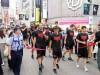 アルバルク東京、渋谷・バスケ通りをパレード 3連覇に向け「一丸となって」