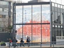 「富嶽三十六景」デジタル映像が原宿の新屋外ビジョンに出現 ネイキッド制作