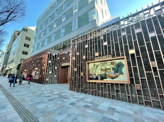 「エルメス」、表参道に新路面店 日本の素材やアーティストの作品展示も