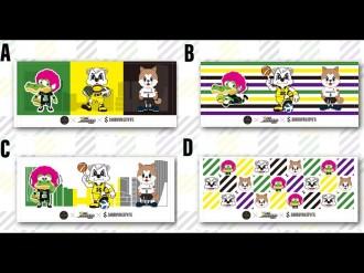 渋谷のスポーツ3チームが初のコラボグッズ デザインを決める投票開始