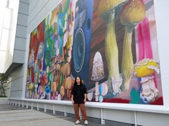 ヒカリエデッキで「壁面アートプロジェクト」 第1弾は大野智史さん作品