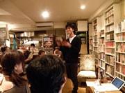 俳優・村上航さんによる「スパム・メールの朗読会」-下北沢のカフェで
