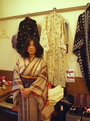 「Kimono my House(キモノ・マイ・ハウス)」を主催する藤田真由美さん