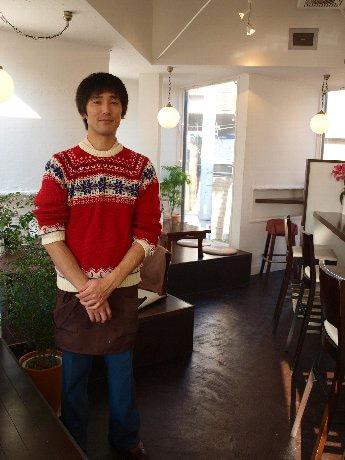 「素材そのものの味を楽しんでもらいたい」と話す、同店オーナーの松野倫さん