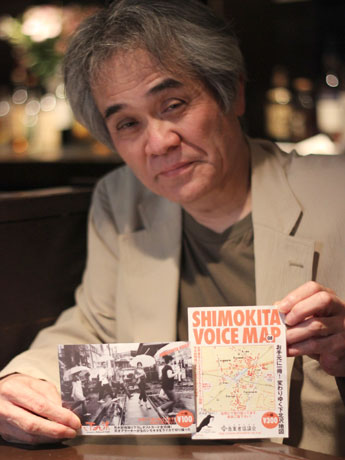 下北沢商業者協議会代表の大木雄高さんは、ジャズバー「LADY JANE(レディジェーン)」のオーナーでもある。同店内で撮影