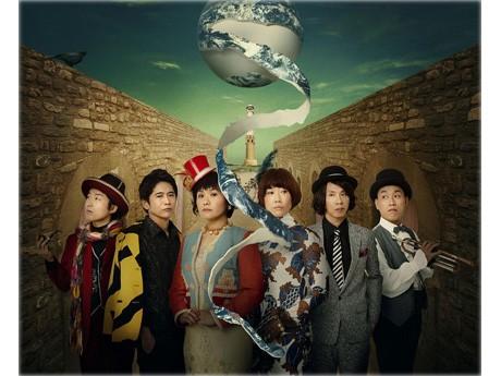 出演する、みのすけさん、萩原聖人さん、犬山イヌコさん、峯村リエさん、大倉孝二さん、山西惇さん(左から)