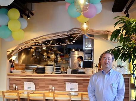 松尾さん自ら内装を手掛けた。「もともと手作り雑貨店もやっていて、作るのが好き」と松尾さん
