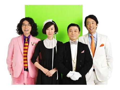 出演者の片桐仁さん、ともさかりえさん、三宅弘城さん、北村有起哉さん(撮影=三浦憲治)