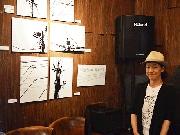 下北沢の豚料理店で電線だけを撮った写真展 15年撮りためたモノクロ写真
