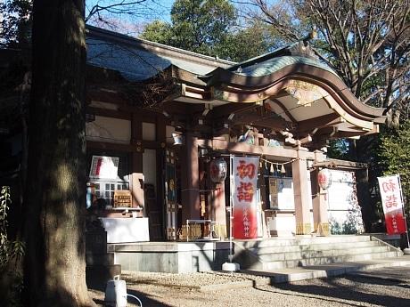 北澤八幡神社、本殿