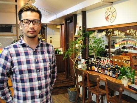 オーナー美容師の伊藤聡司さん