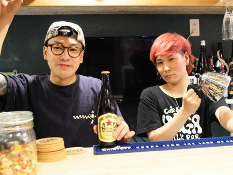 店長の池田大夢さん、伊藤健二さん