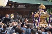 下北沢で北澤八幡秋まつり 上方舞や巫女舞披露、イスラム教講話も