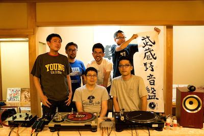 大宮の割烹旅館・東山で9月にリスニングイベントが開催されたときの武蔵野レコードメンバー