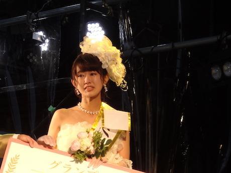 ミス東大グランプリの松本有紗さん