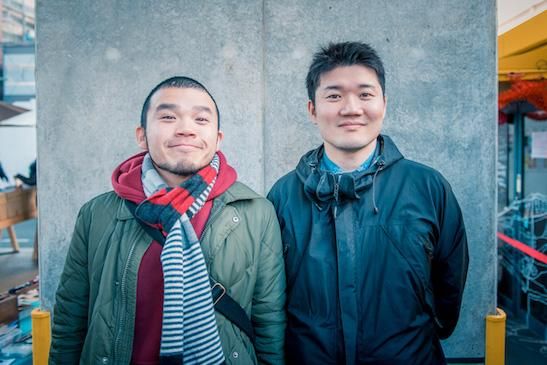 左から講師を務めたアフロさん、阿部広太郎さん