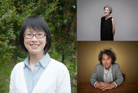 左から時計回りに、出演者の田中輝美さん、鯨本あつこさん、日野昌暢さん
