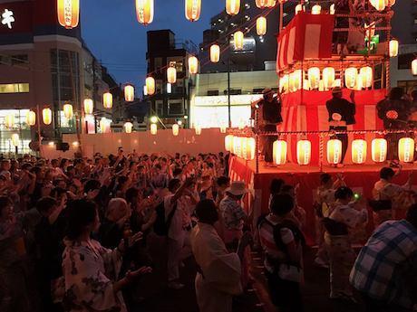 昨年の下北沢夏祭りの様子